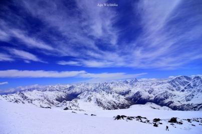 Panoramy Kaukazu.