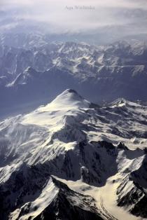Kaukaz z lotu ptaka